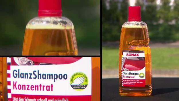 Sonax - 1 trong những loại nước rửa xe máy chuyên dụng