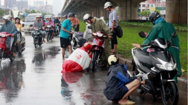 Xe số hay gặp phải tình trạng chết máy khi bị ngập nước